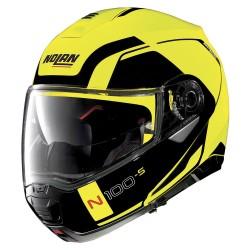 Nolan N100-5 Consistency N-Com Led Yellow Modular Helmet
