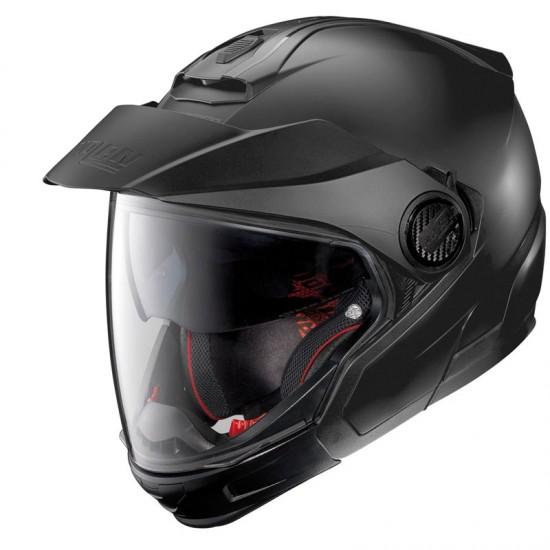 Nolan N40-5 GT Classic N-Com Flat Black Modular Helmet