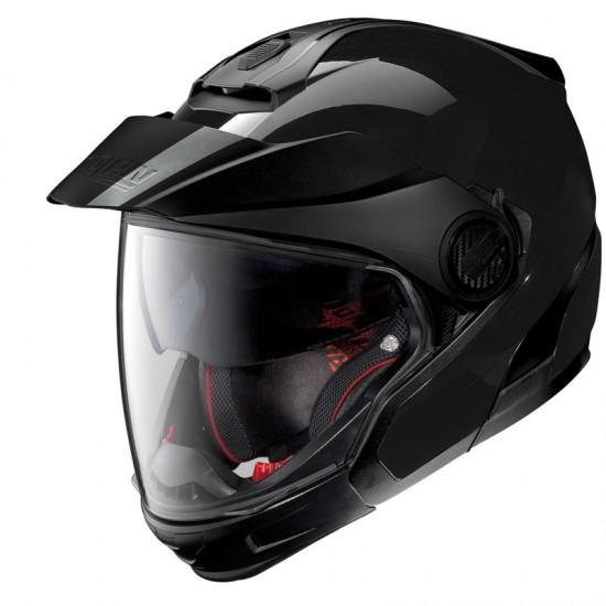 Nolan N40-5 GT Classic N-Com Glossy Black Modular Helmet
