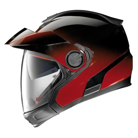 Nolan N40-5 GT Fade N-Com Cherry Modular Helmet