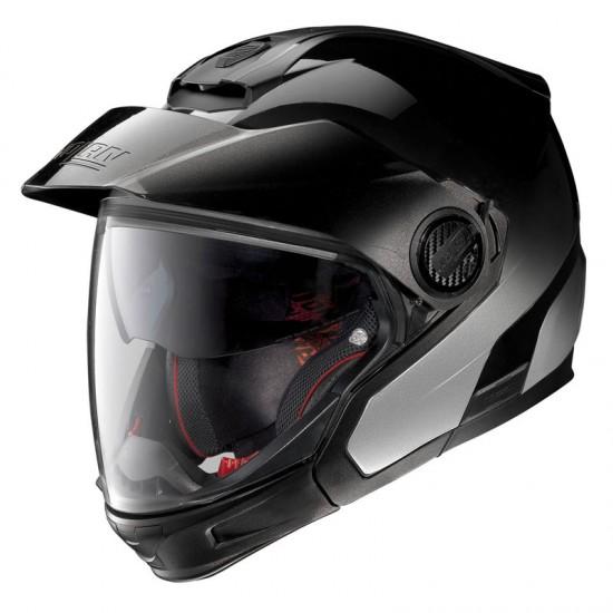 Nolan N40-5 GT Fade N-Com Silver Modular Helmet