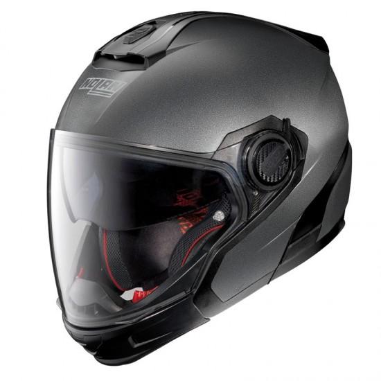 Nolan N40-5 GT Special N-Com Black Graphite Modular Helmet