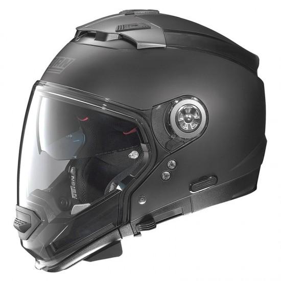 Nolan N44 Evo Classic N-Com Flat Black Modular Helmet