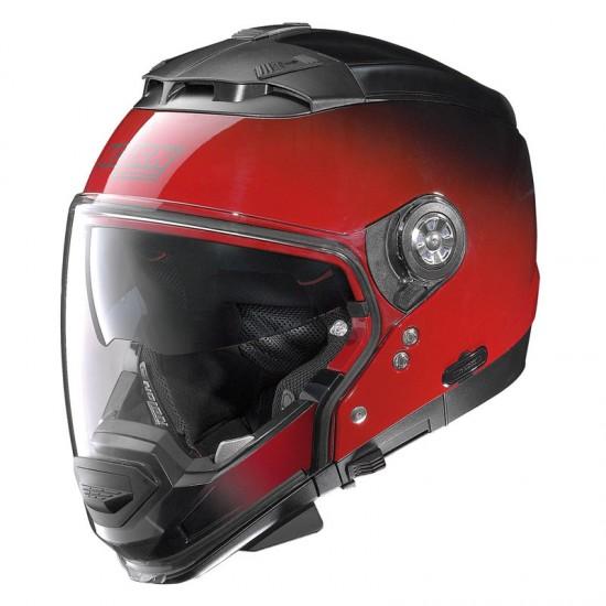 Nolan N44 Evo Fade N-Com Fade Cherry Modular Helmet