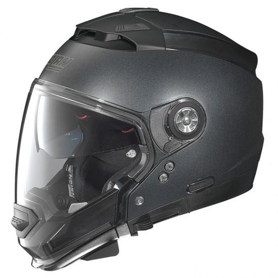 Nolan N44 Evo Special N-Com Black Graphite Modular Helmet