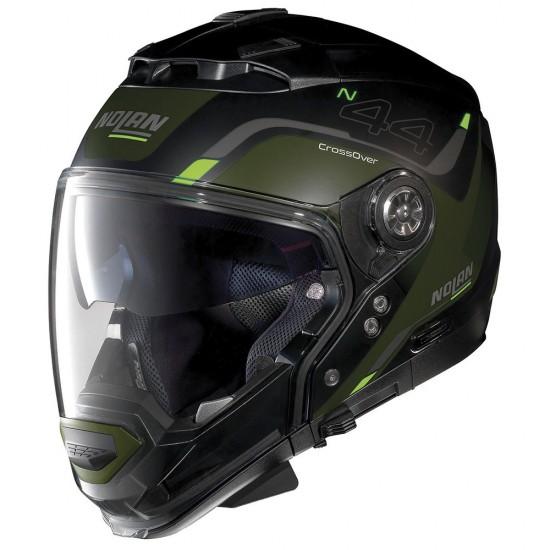 Nolan N44 Evo Viewpoint N-Com Flat Black Modular Helmet