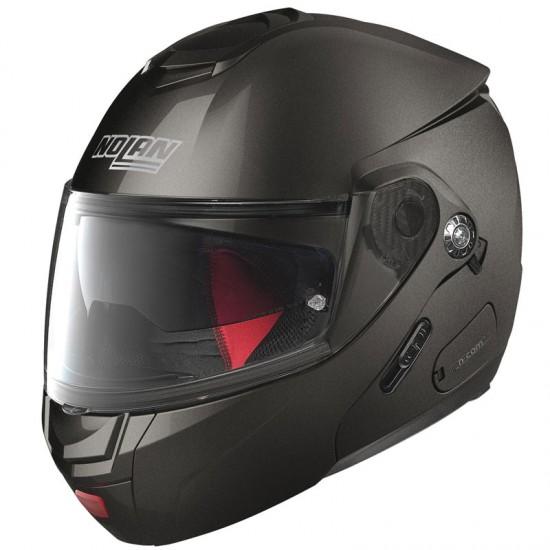Nolan N90-2 Classic N-Com Lava Grey Modular Helmet