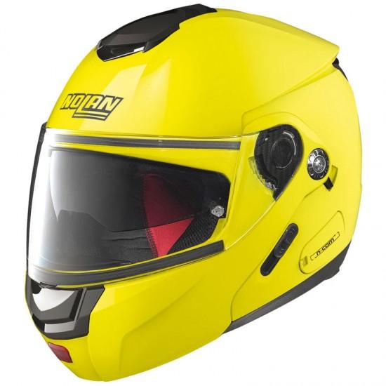 Nolan N90-2 Hi-Visibility N-Com Fluo Yellow Modular Helmet