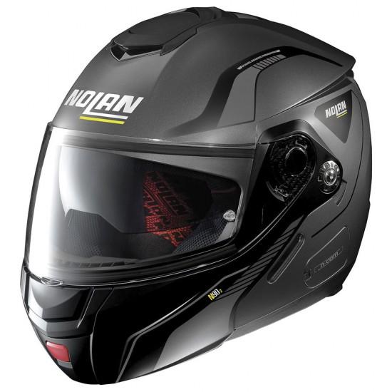Nolan N90-2 Straton N-Com Flat Lava Grey Modular Helmet