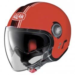 Nolan N21 Visor Joie De Vivre Corsa Red Jet Helmet