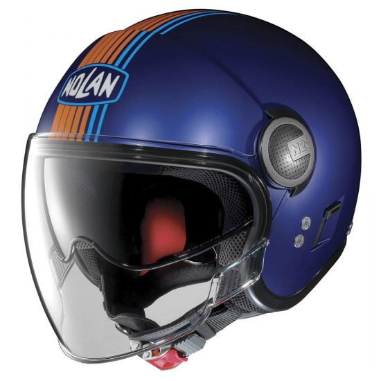 Nolan N21 Visor Joie De Vivre Flat Cayman Blue Jet Helmet