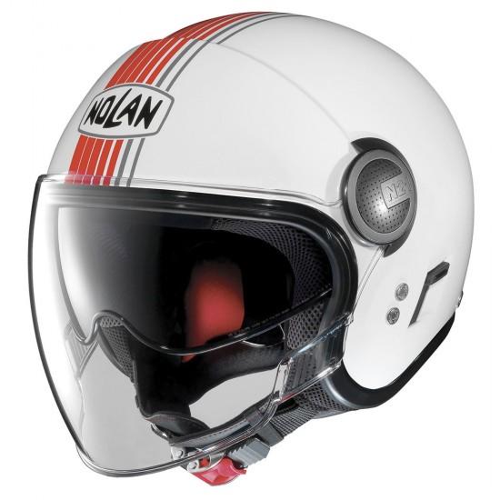 Nolan N21 Visor Joie De Vivre Red Metal White Jet Helmet