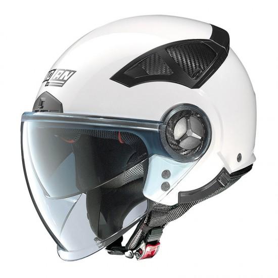 Nolan N33 Evo Classic Metal White Jet Helmet