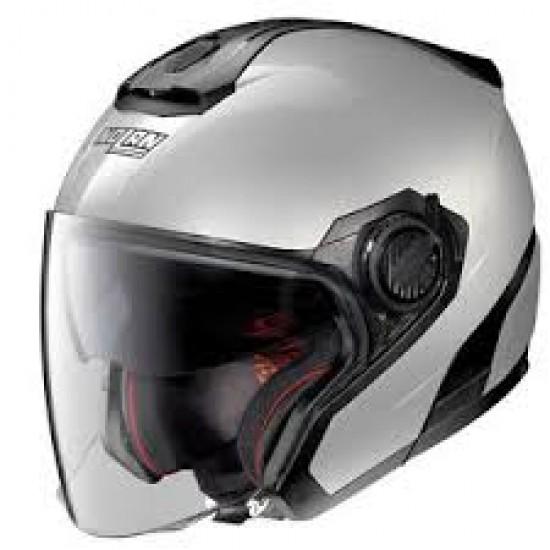 Nolan N40-5 Special N-Com Salt Silver Jet Helmet