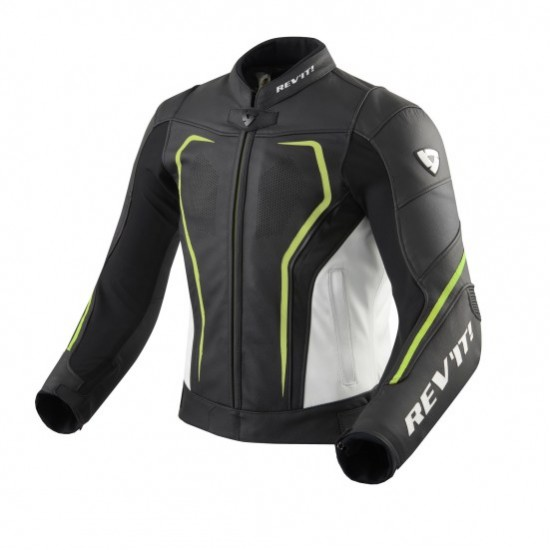 Rev'it Vertex GT Jacket - Black Neon Yellow
