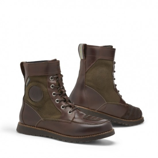 Rev'it Royale H20 Shoes - Brown Olive