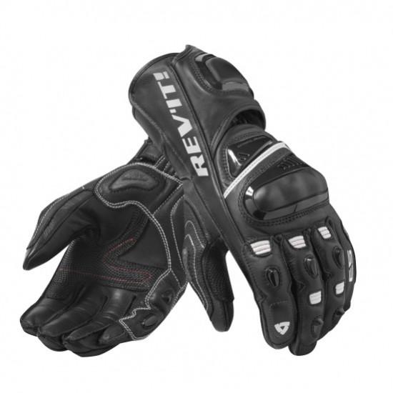 Rev'it Jerez 3 Gloves - Black White