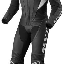 Rev'it Akira One Piece Leather Black White Suit