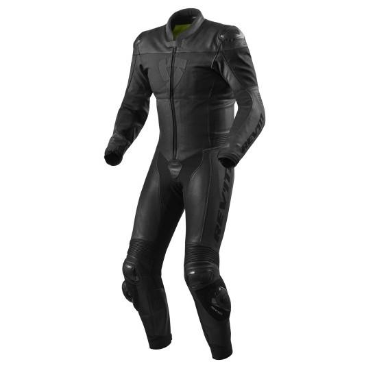 Rev'it Nova One Piece Leather Black Suit