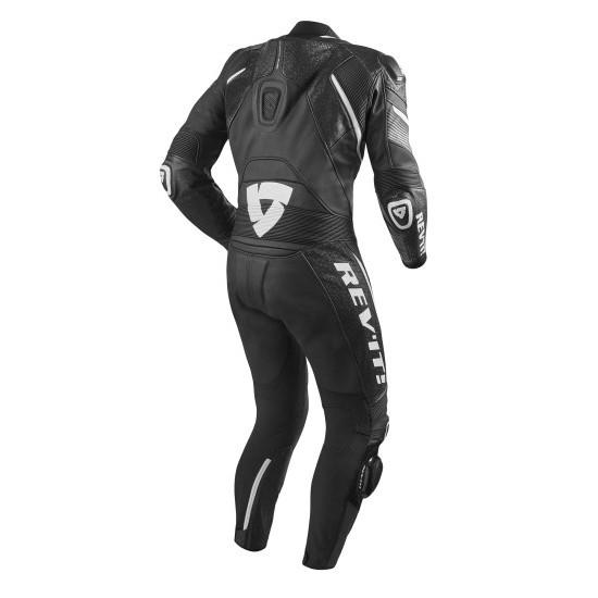 Rev'it Spitfire One Piece Leather Black White Suit