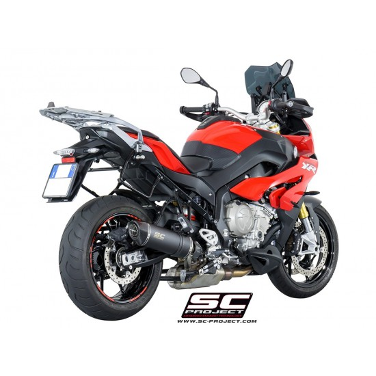 SC-Project Oval Silencer In Low Position Black Stainless BMW S 1000 XR 2017-2018 MPN - B23-L01O