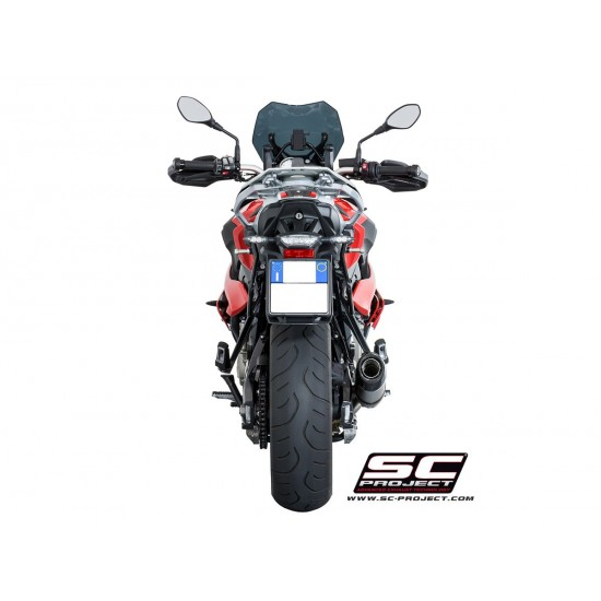 SC-Project Oval Silencer In Low Position Titanium BMW S 1000 XR 2017-2018 MPN - B23-L01T