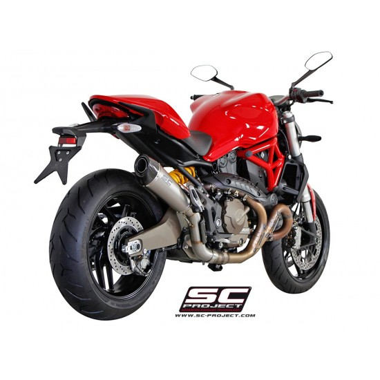 SC-Project Titanium Conic Silencer Titanium Ducati Monster 821 2014-2017 MPN - D14-34T