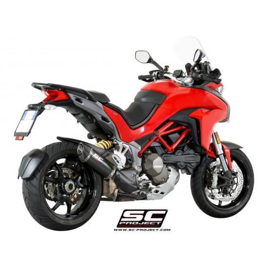 SC-Project Oval Silencer Carbon Fiber Ducati Multistrada 1200 2015-2017 MPN - D19-K25C