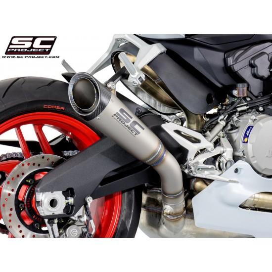 SC-Project S1 Exhaust Titanium Ducati 959 Panigale 2016-2018 MPN - D20-T41T