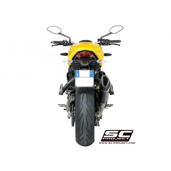 SC-Project SC1-R Muffler Carbon Fiber Ducati Monster 821 2018 MPN - D25-91C
