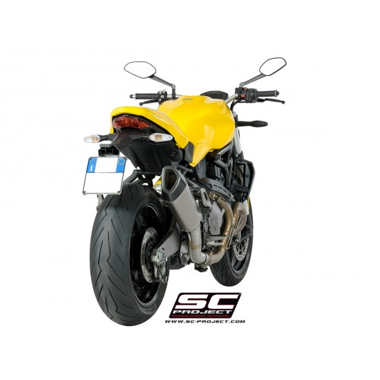 SC-Project SC1-R Muffler Titanium Ducati Monster 821 2018 MPN - D25-91T