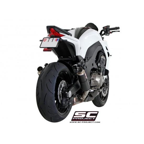 SC-Project GP M2 Silencers Carbon Fiber Kawasaki Z1000 2014-2016 MPN - K19-18C