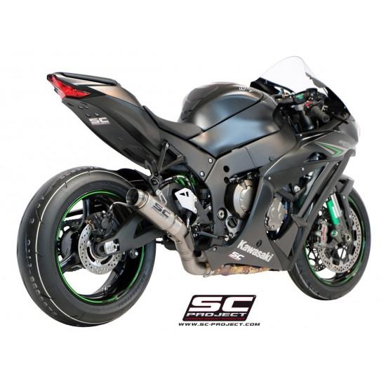SC-Project GP70-R Silencer Full Titanium Kawasaki Ninja ZX-10R 2016-2018 MPN - K22-70T
