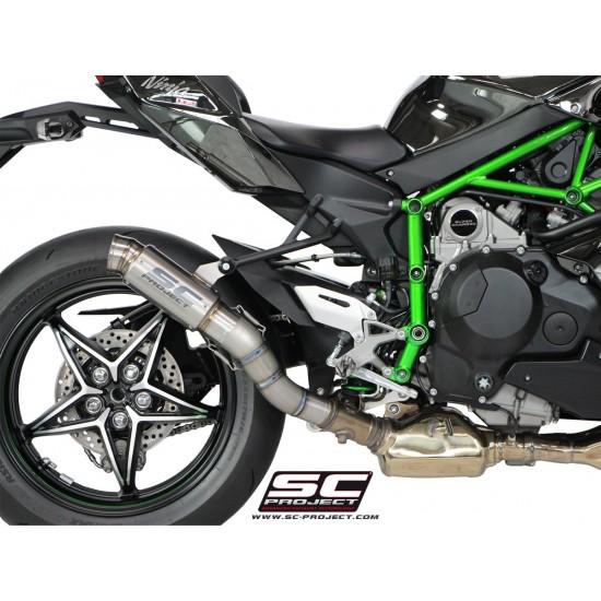 SC-Project GP70-R Silencer Full Titanium Kawasaki Ninja H2 MPN - K21-70T