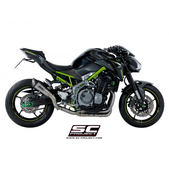SC-Project Headers And Pipes In Stainless Steel Kawasaki Z900 MPN - K25-SS-FS