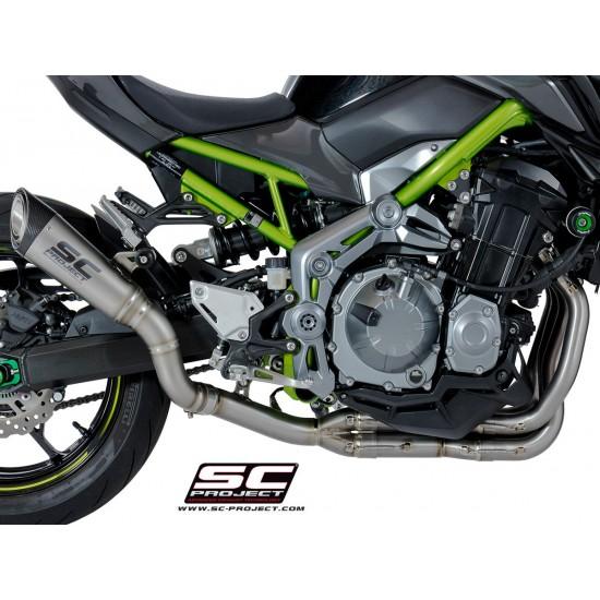 SC-Project Headers And Pipes In Full Titanium Kawasaki Z900 MPN - K25-FT-FS