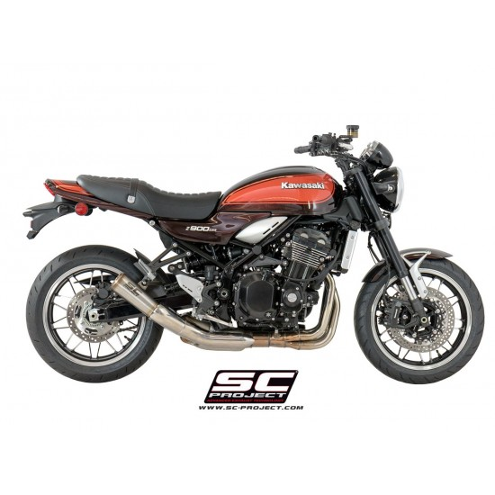 SC-Project Stainless Steel S1-GP Muffler Stainless Steel Kawasaki Z900RS MPN - K29-43A