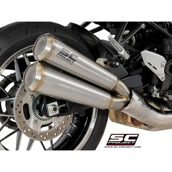 SC-Project Twin Conic '70s Muffler Stainless Steel Kawasaki Z900RS MPN - K29-D39A70S