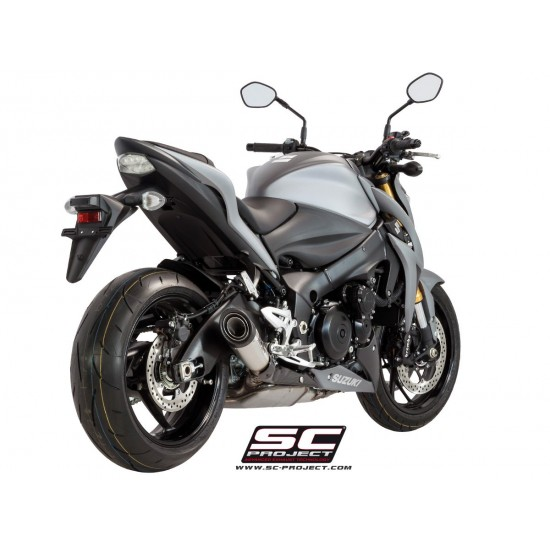 SC-Project S1 Silencer Stainless Steel Suzuki GSX-S1000 / S1000F 2017-2018 MPN - S11-41A