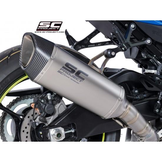 SC-Project SC1-R Muffler Titanium Suzuki GSX-R1000 2017-2018 MPN - S16-T91T
