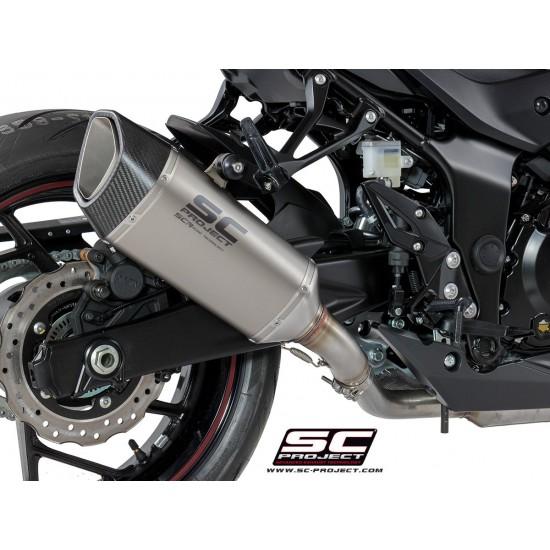 SC-Project SC1-R Muffler Titanium Suzuki GSX-S750 2017-2018 MPN - S15-90T
