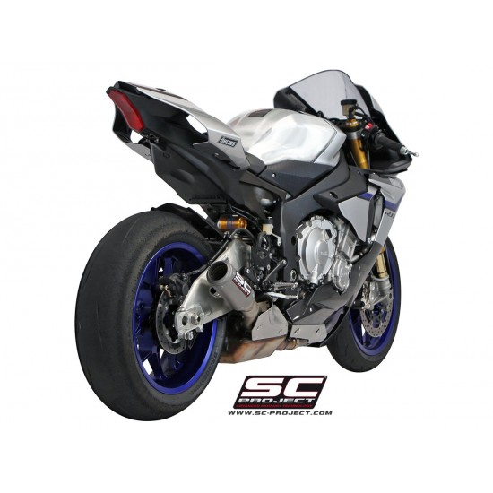 SC-Project CR-T Silencer Yamaha YZF-R1 / R1M 2015-2017 MPN - Y11-K36T