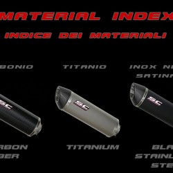 SC-Project Full System 2-1 With Oval Silencer Black Stainless Yamaha YZF-R3 2017-2018 MPN - Y23-C25O