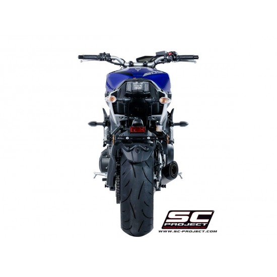 SC-Project Full System 3-1 With S1 Silencer With Homologation Euro 4 Stainless Steel Yamaha MT-09 2017-2018 MPN - Y22-C41T