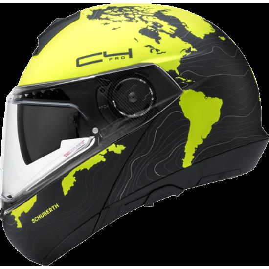 Schuberth C4 Pro Magnitudo Yellow Modular Helmet