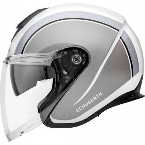 Schuberth M1 Pro Outline Grey Open Face Helmet