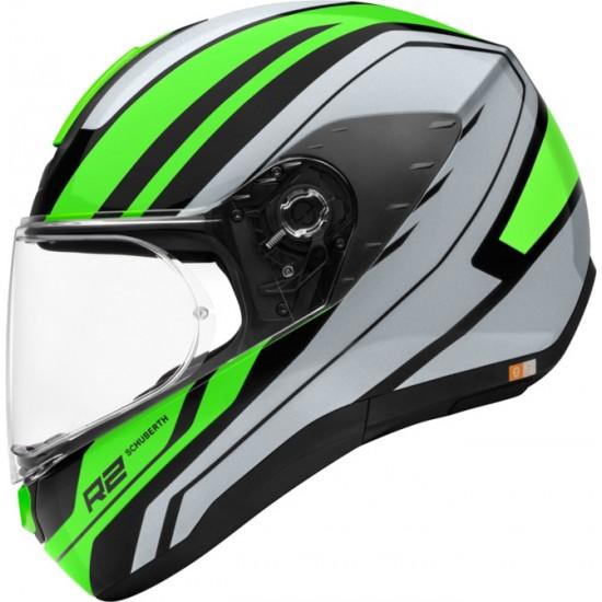 Schuberth R2 Enforcer Green Full Face Helmet