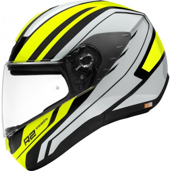 Schuberth R2 Enforcer Yellow Full Face Helmet