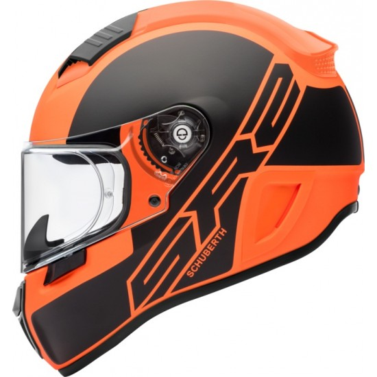 Schuberth SR2 Traction Orange Full Face Helmet