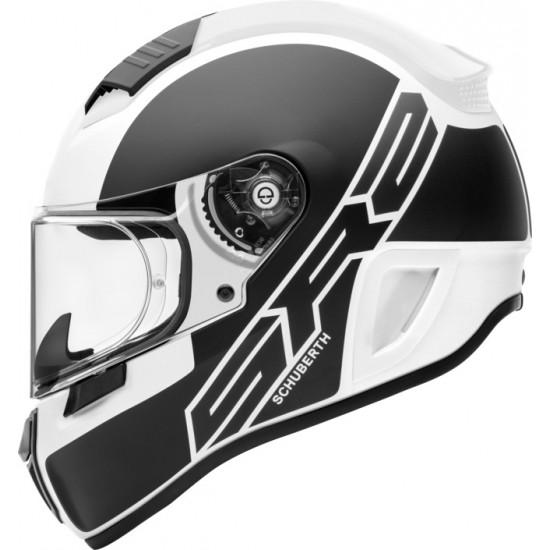 Schuberth SR2 Traction White Full Face Helmet